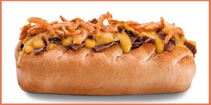 Firehouse Subs Pub Steak Sub with new Beer Cheese Sauce